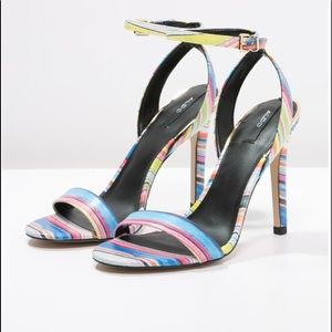 Aldo Multi Colored Heels